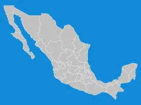 united mexican states map vector vector free