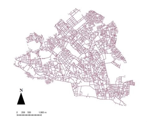 an evaluation of road network patterns based on the