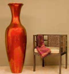 mahogany large floor vase 595 home decor
