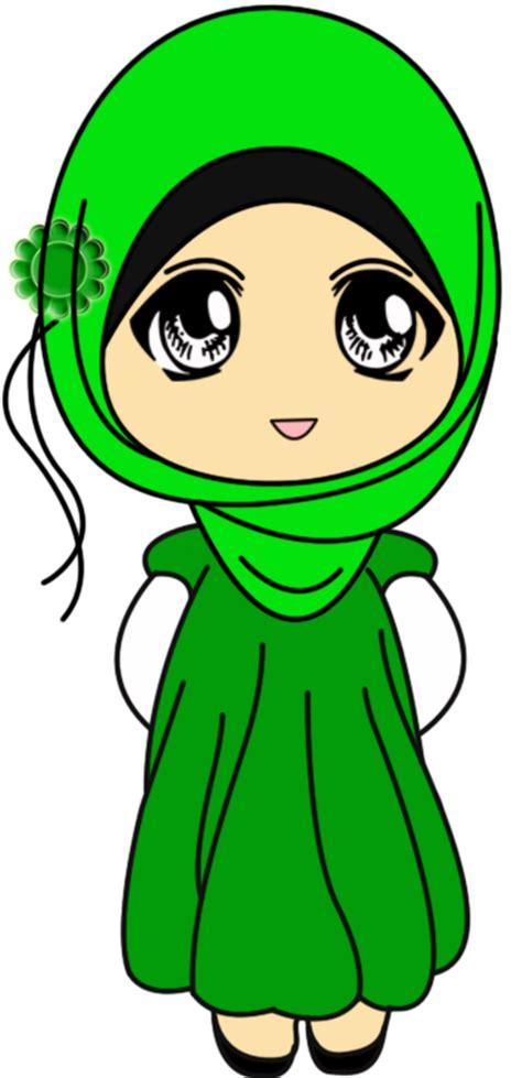 asha freebies doodle muslimah comel