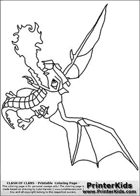 clash of clans dragon coloring page clash of clans dragon 2 coloring page coloring
