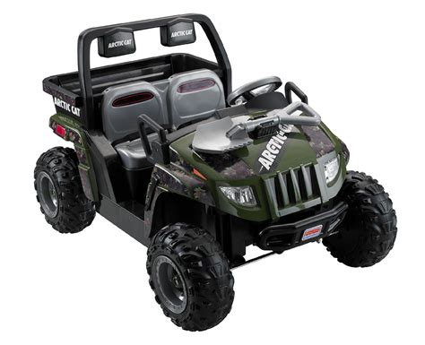 arctic maserati power wheels 12v ride on arctic cat utv camo
