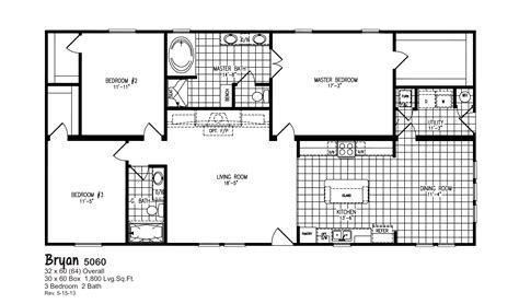 oak creek homes floor plans bryan 5060 oak creek homes