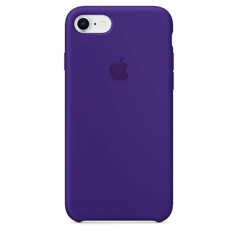 iphone   silicone case ultra violet apple