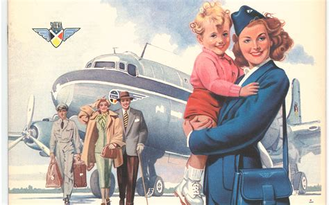 retro photos gorgeous vintage airline posters from around the world