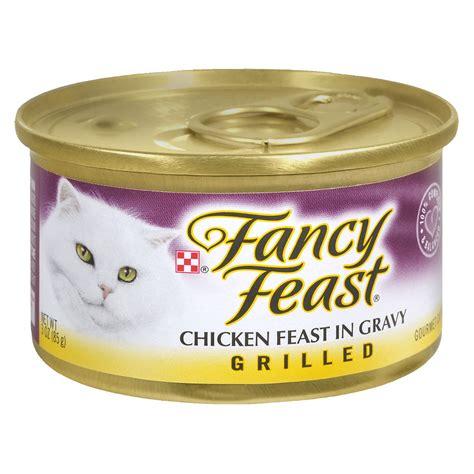 Fancy Feast Gravy fancy feast grilled gourmet cat food chicken in gravy