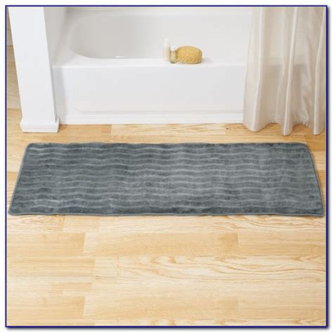 extra long bathroom runner rugs extra long bath runner rug rugs home design ideas