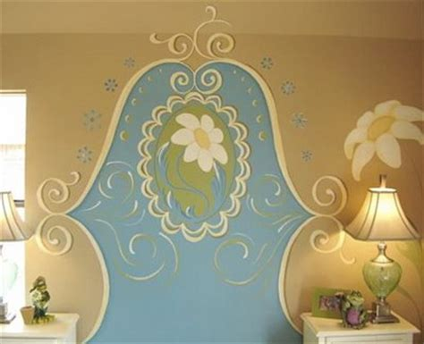 painted headboards on the wall wall mural headboard design dazzle
