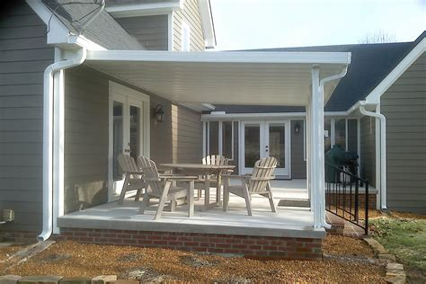 Aluminum Covered Patios by Photo Gallery Of Traditional Aluminum Patio Covers