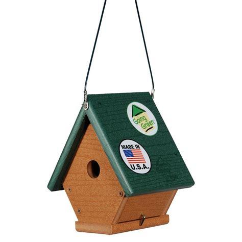 woodlink going green wren bird house ggwren the home depot