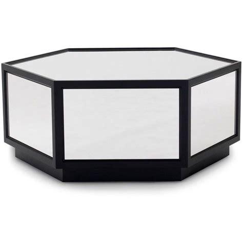 mitchell gold bob williams sutton hexagon coffee table
