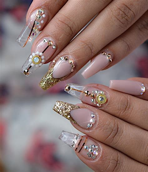 Clear Nail by 27 Lovely And Extravagant Clear Nail Designs Easy Nail