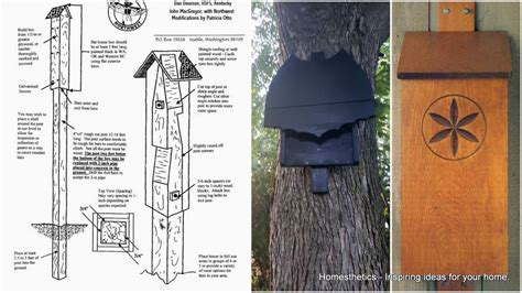 homemade bat house plans 39 free diy bat house plans to shelter the natural pest control