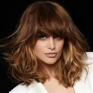 coupes et coiffures cheveux longs de l automne hiver 2016