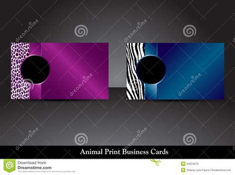 zebra print business cards templates free free zebra print business cards template choice image