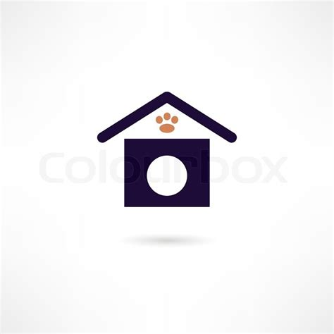 dog house vector dog house icon stock vector colourbox