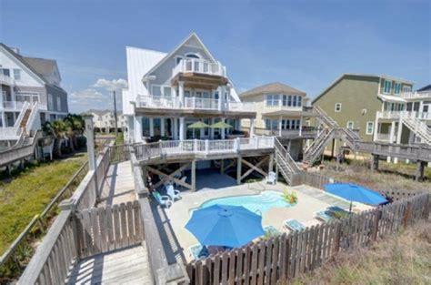 Beautiful Oceanfront 4 Bedroom Home Homeaway Topsail Amazing View Direct Oceanfront Priv Pool Vrbo