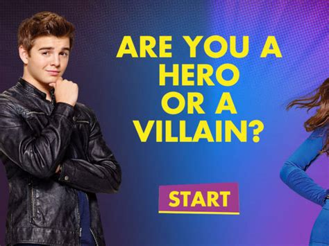 Or A The Thundermans Are You A Or A Villain