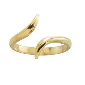 14k gold ring 14k yellow gold bypass open ring shank
