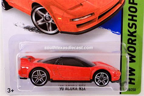 Sale Hotwheels Wheels 90 Acura Nsx 90 acura nsx model cars hobbydb