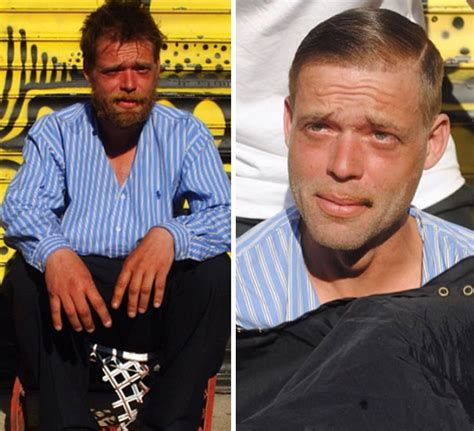 haircuts homeless this barber spends his sundays giving free haircuts to