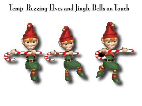 second life marketplace dancing christmas elves
