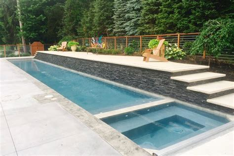 inground lap pool in ground lap pool precision pool and spa custom in