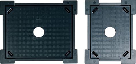 materiale per piastrelle telaio per piastrelle completamente in materiale plastico