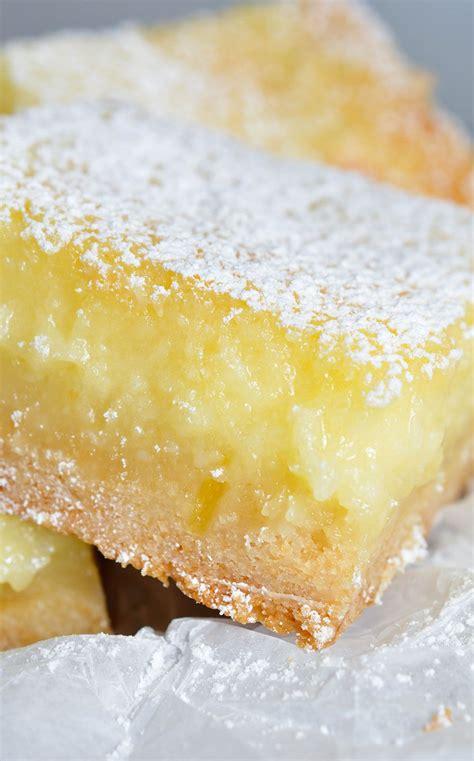 easy cake mix lemon bars recipe cake mixes cream