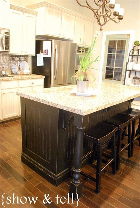 kitchen island different color than cabinets kitchen island redo different colour than main cabinetry