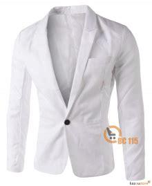 Blazer Korea Pria Kombinasi Hitam Abu Casual Santai Bandun jual blazer pria murah kazoustore