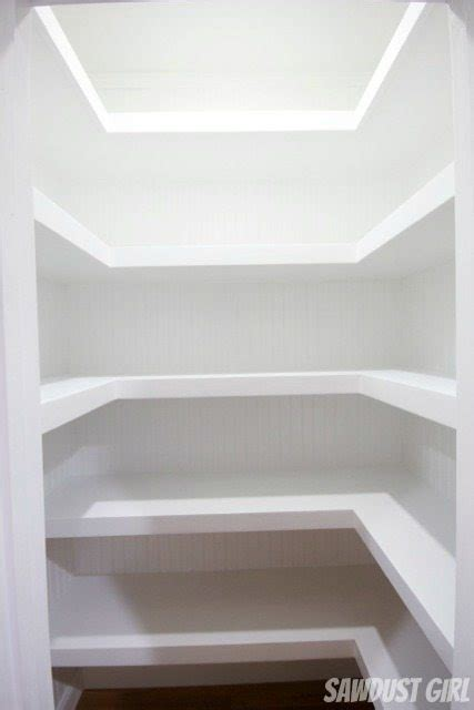 Shelving Ideas For Bedroom Walls hall closet with floating shelves sawdust girl 174