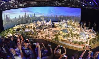 disney world reveals new name artwork models for disney parks name wars lands galaxy s edge daily
