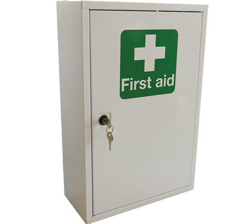 aid metal cabinet single door single depth empty