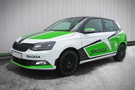 Skoda Auto De by Gestaltung Beschriftung Folierung škoda Service