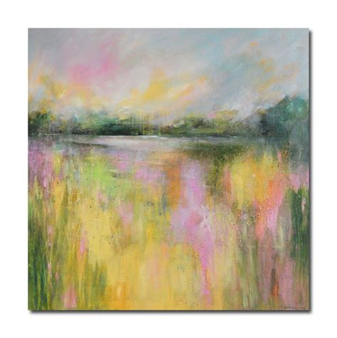 painting impressionism modern large original abstract impressionist landscape painting modern