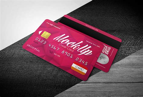 Plastic Credit Card Business Card Mockup Psd Template by Plastic Credit Card Business Card Mockup Psd Template