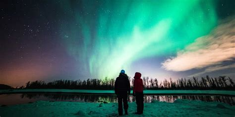 where to northern lights northern lights viewing visit anchorage