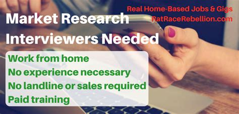 work from home as a telephone interviewer at maritzcx