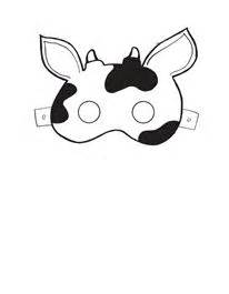 Fil A Cow Mask Template by Cow Mask Template Ideas For The
