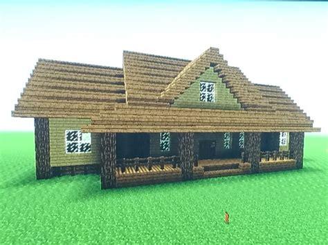 Minecraft Farm House by Minecraft Lowcountry Ranch Farm House Tutorial
