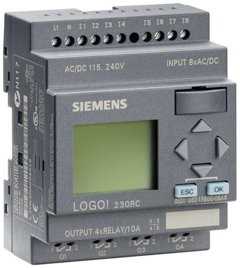 Siemens Gift Card - 6ed1052 1fb00 0ba6 siemens logo 230rc plc module 115v 230v relay 8 di 4 do ebay