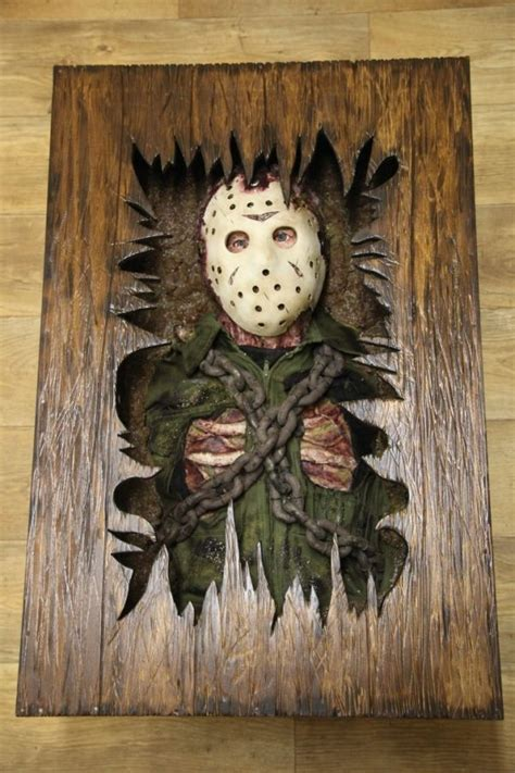 jason voorhees coffee table friday the 13th coffee table neatorama
