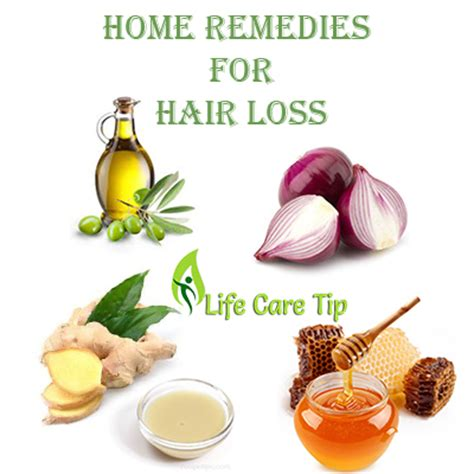 home remedies for hair loss treatment