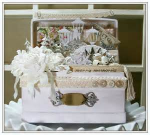 shabby chic christmas trunk polly s paper studio