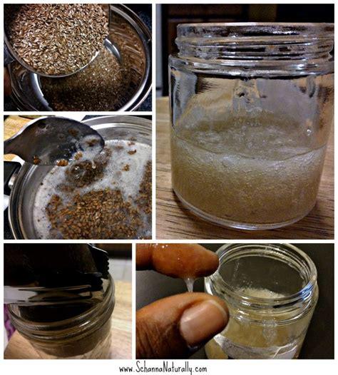 styling gel recipe 2 ingredient flax seed beauty gel recipe