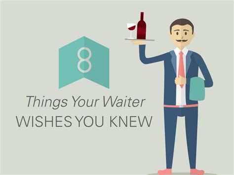 8 Things That Your Waiter by 8 Things Your Waiter Wishes You Knew Food Network