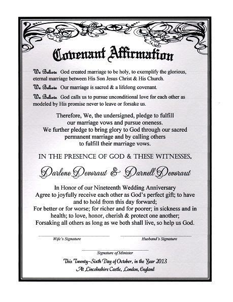 'Timeless Silver Romance' Marriage Covenant Renewal