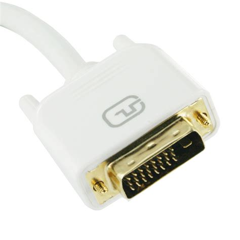 Monitor Dvi 1m dvi d cable white dual link for lcd screen pc monitor dv4351w1m selby