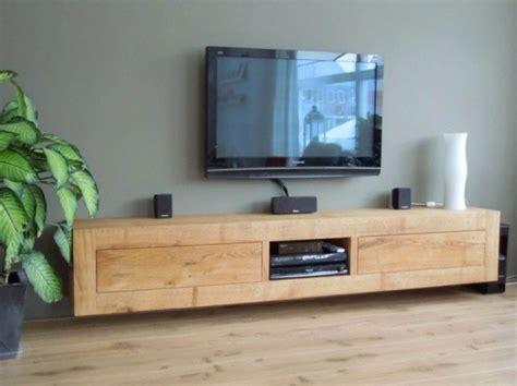 tv kastjes eiken eiken tv meubel tv kast eikenhout laden zwevend hangend te